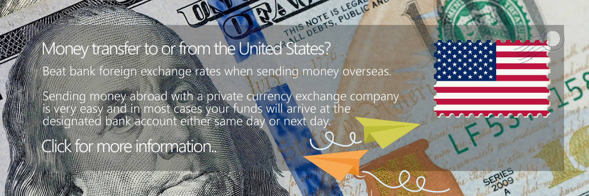 US Dollar Bank Money Transfers to the UK